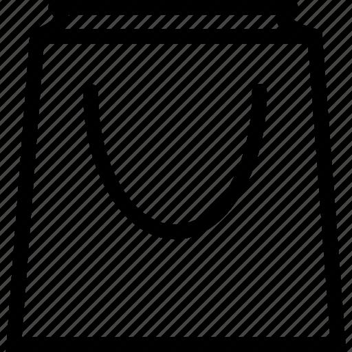 bag, paper bag, shopper, shopping icon