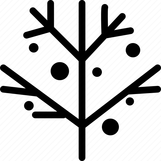 branch, mistletoe, plant, winter icon