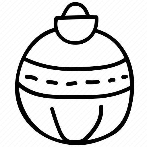 bauble, celebration, christmas, decoration icon