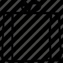 present, box, christmas, gift