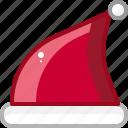 cap, fashion, hat, red, santa icon