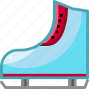 cold, ice, skate, snow, winter icon