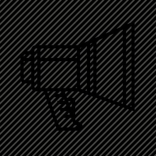 Advertisement, announcement, bullhorn, marketing, megaphone icon - Download on Iconfinder