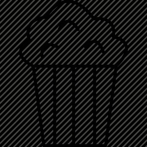 Cinema, film, movie, popcorn icon - Download on Iconfinder