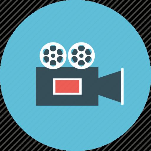 camera, cinema, entertainment, film, movie, vdo, videographer icon