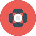 cinema, entertainment, film, flash, light, movie, sportlight icon