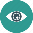 cinema, entertainment, eyes, film, monitor, movie, watch icon