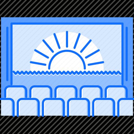 Cinema, film, filming, movie, seat icon - Download on Iconfinder