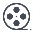 cinema, film, media, movie, multimedia, video icon