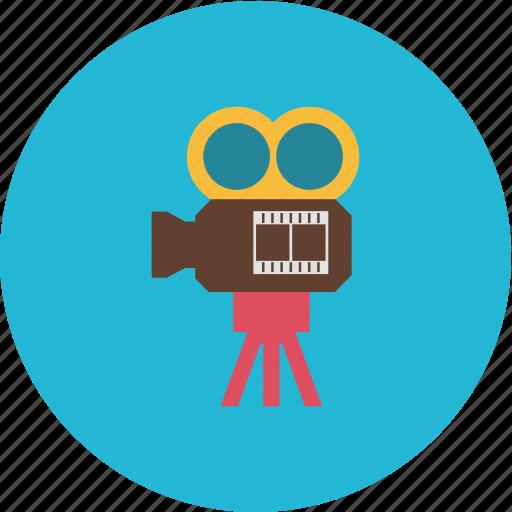 art, camera, cinema, film, movie, video icon