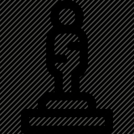 award, movie, oscar, reward, throphy icon