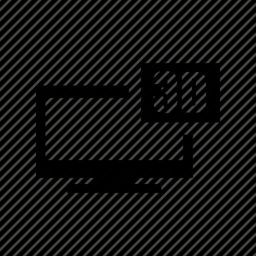 3d, cinema, set, television, tv, tv set icon icon