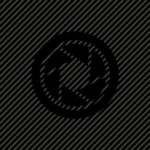 lens, photo, photography, shutter icon icon