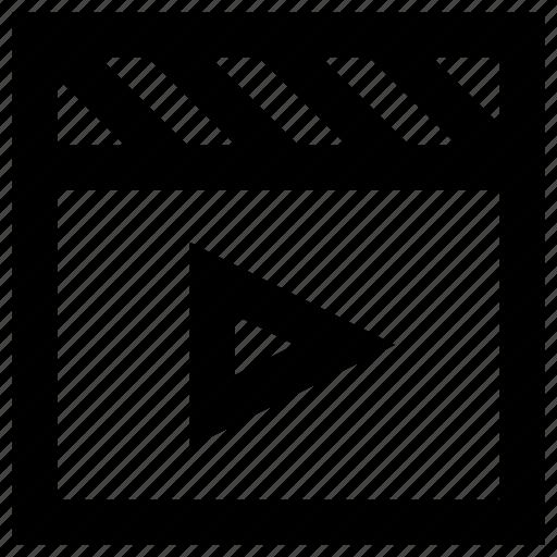 Cinema, entertainment, movie, play, pointer icon - Download on Iconfinder