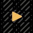 footage, movie, strip, frame, filming icon