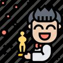 award, prize, academy, actor, oscar