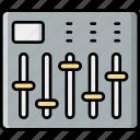 equalizer, controller, music, adjustment