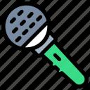 audio, megaphone, mic, microphone, recording, speak, speaker icon