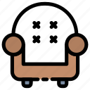 chair, furniture, home, house, interior, relax, seat icon