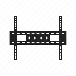 bracket, hang, secure, tv icon