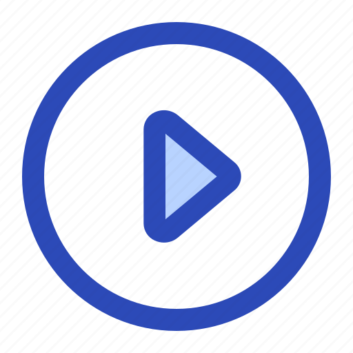 circle, play, playbutton, video icon