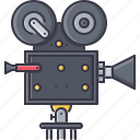 camcorder, cinema, film, filming, movie icon