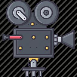 camcorder, cinema, film, filming, movie icon