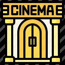 architecture, buildings, cinema, city, entertainment, theater, theatre