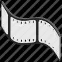 film reel, film strip, movie roll, multimedia, wobble