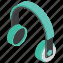 audio device, earphone, headphone, headset icon
