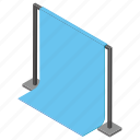display, power point, presentation screen, projector screen, silver screen icon