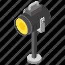 camcorder, candid camera, photographic equipment, polaroid, tripod camera icon
