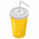 beverages, disposal glass, drink juice, juice glass, takeaway drink icon