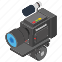 camcorder, candid camera, movie camera, photographic equipment, polaroid icon