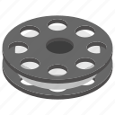 film reel, movie roll, multimedia, video strip, wobble