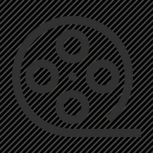 cinema, clip, film, media, movie, multimedia, reel, video, videotape icon