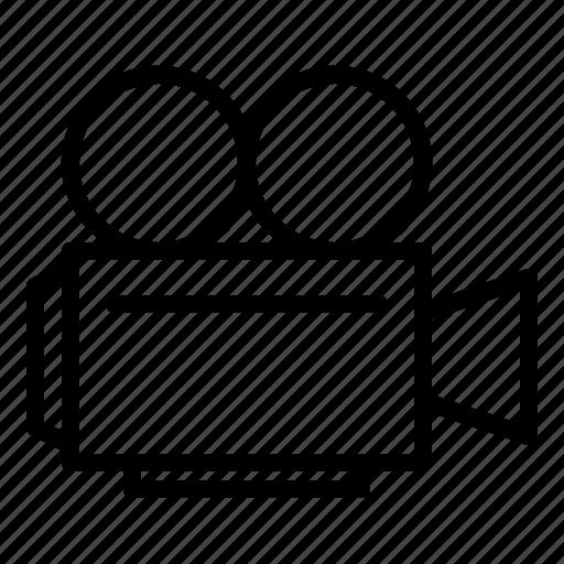 camera, cinema, movie icon