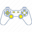 console, digital, game, gamepad, gaming, thin, video icon