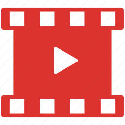 film, photo, photogravure, play, video icon