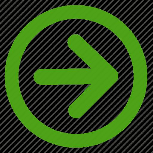 arrow, direction, left, move, next icon