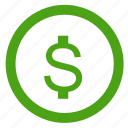 cash, credit, currency, dollar, finance, money, payment icon