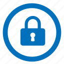 lock, locked, password, safe, secure, security icon