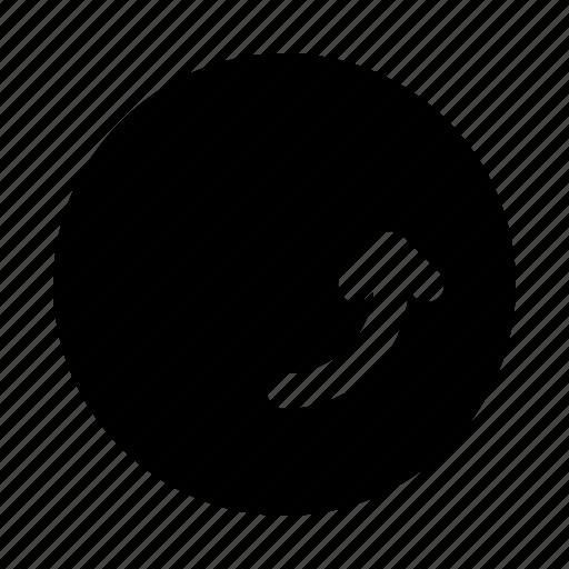 arrow, arrows, corner, direction, move, right icon