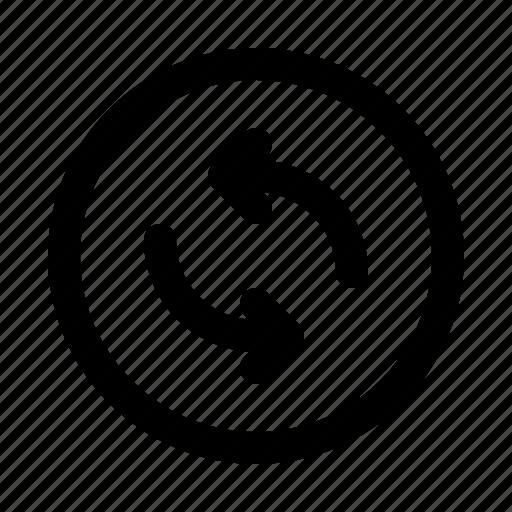 arrow, arrows, direction, move, sync icon