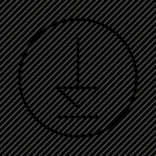 arrow, arrows, direction, download, move icon