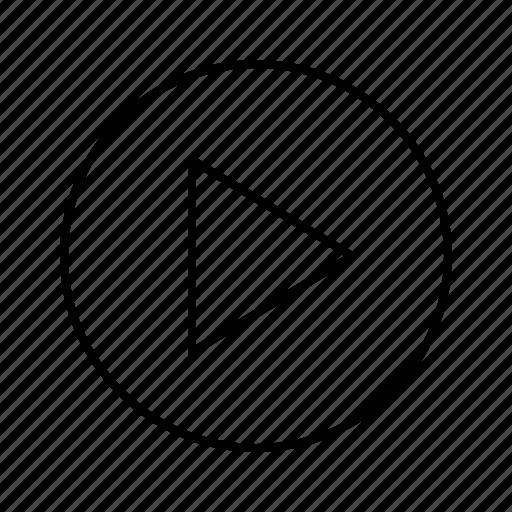 arrow, arrows, big, direction, move, right icon