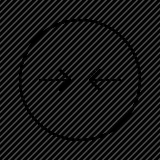 arrow, arrows, direction, move, slim icon