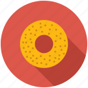 bagle, breakfast, dinner, eating, food, kitchen icon