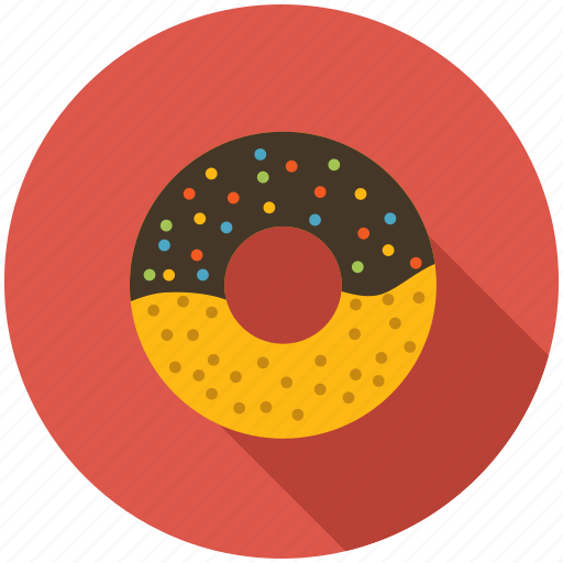 breakfast, dinner, donut, eating, fast food, food, kitchen icon