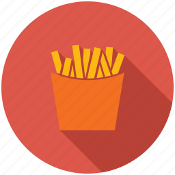 dinner, eating, fast food, food, fries, kitchen icon